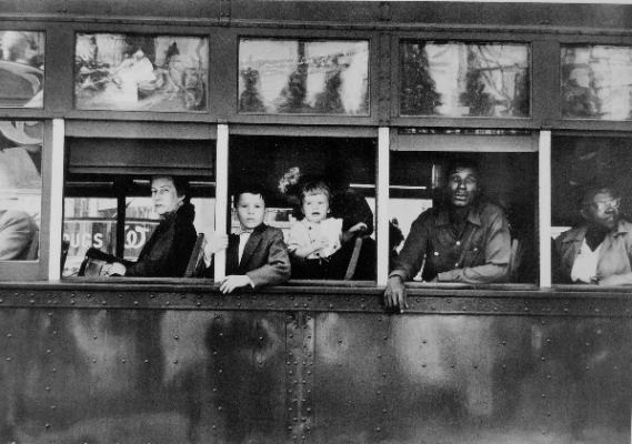 "Robert Frank, Streetcar, from ""The Americans"""