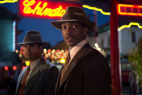 Michael Peña and Anthony Mackie -- from Gangster Squad