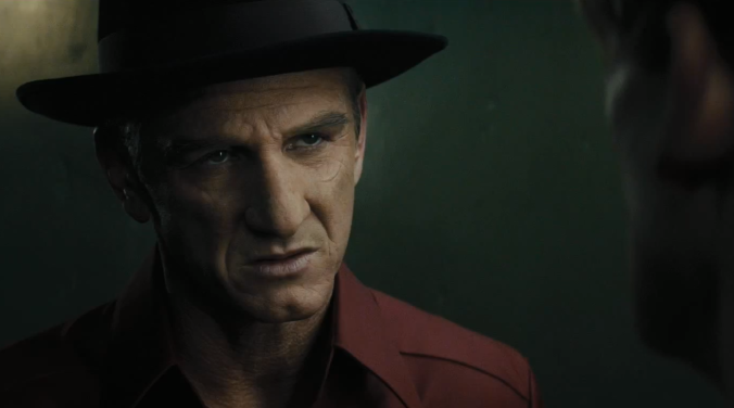 """L.A. is my destiny."" Sean Penn as Mickey Cohen"
