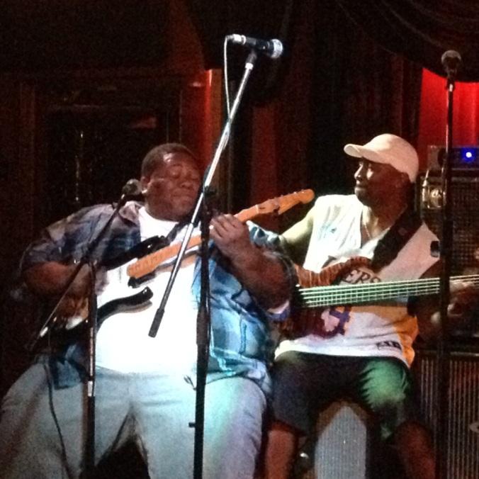 """Derwin """"Big D"""" Perkins & Cornell Williams"""