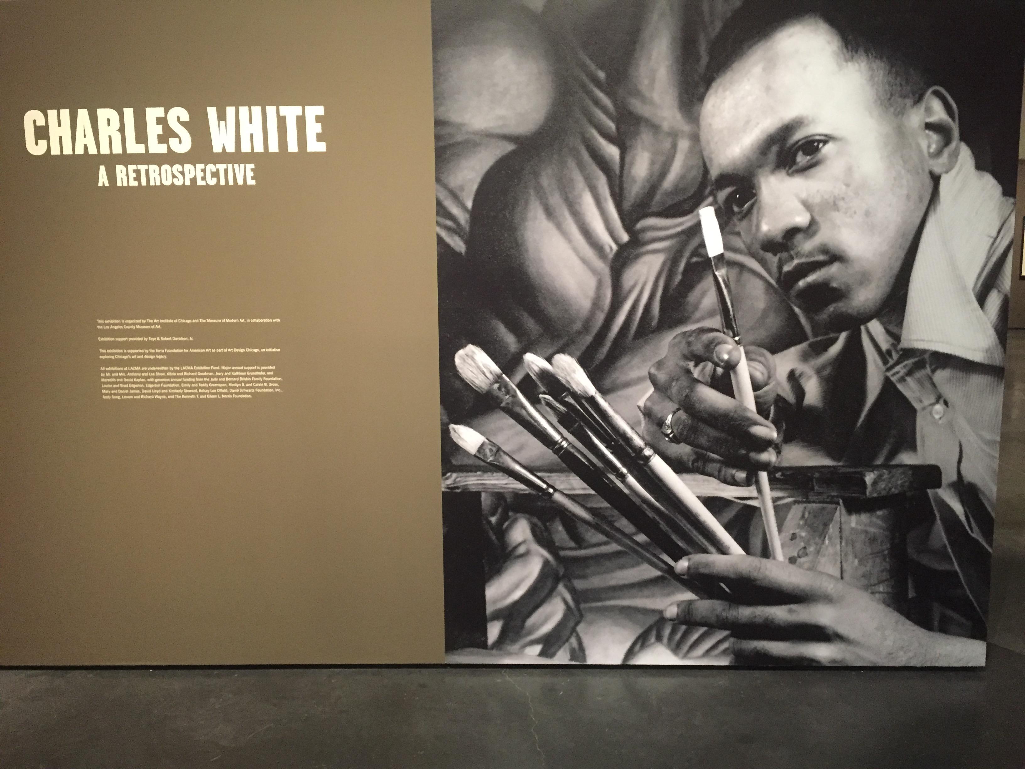 Charles White at LACMA